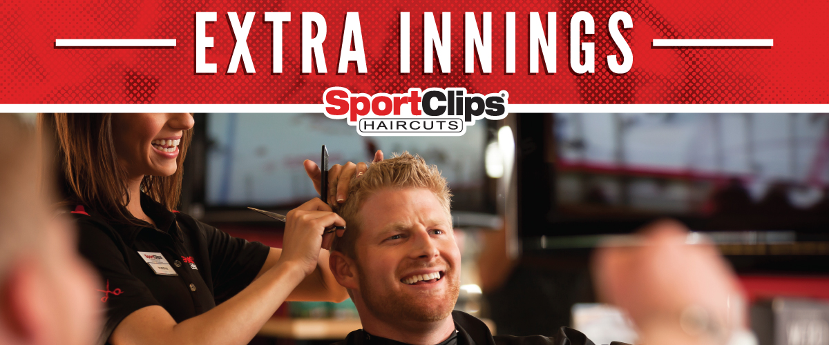 The Sport Clips Haircuts of Village Shoppes of Lake Hallie Extra Innings Offerings