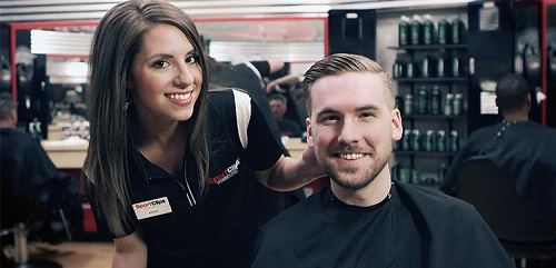 Sport Clips Haircuts of Village Shoppes of Lake Hallie​ stylist hair cut
